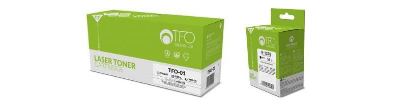 TFO laser- ja mustesuihkutulostinten musteet, patruunat ja värikasetit