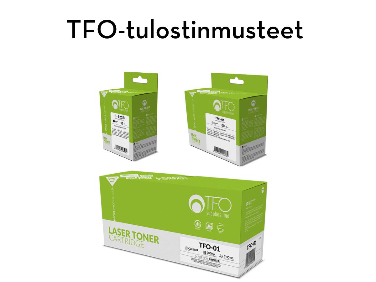 TFO laser- ja mustesuihkutulostinten musteet